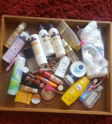 travel cosmetics