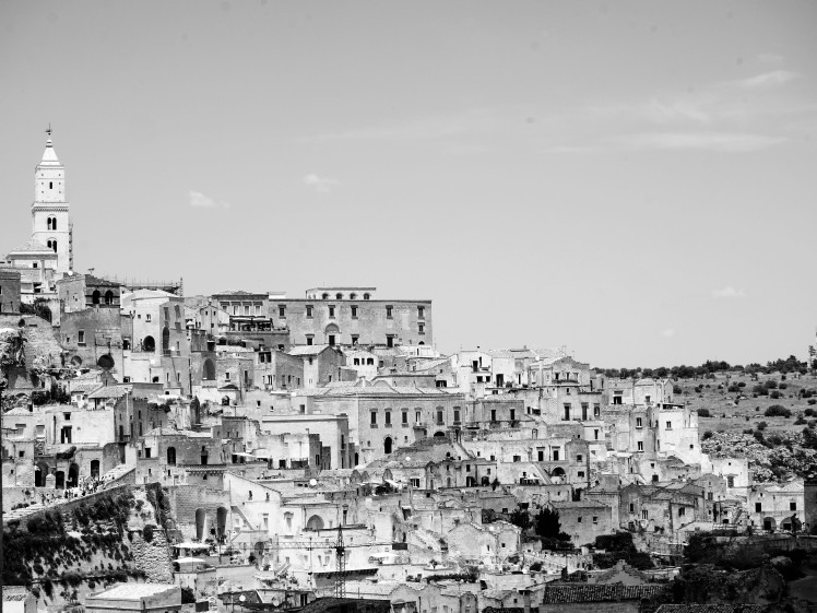 The Sassi or ancient town