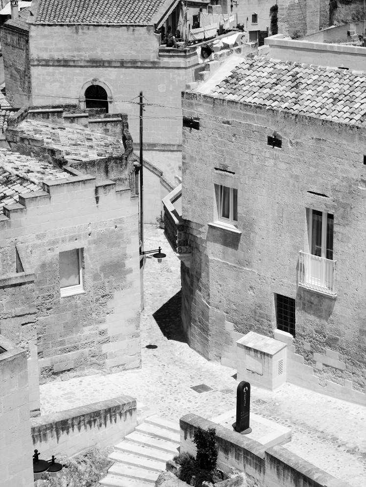 The bleached streets of Matera are coming back to life