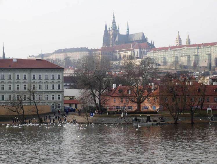 Vitava Prague Castle