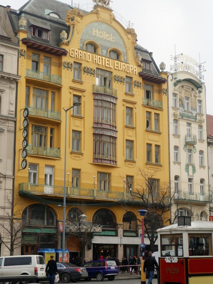 The splendour of La Belle Epoque, Prague