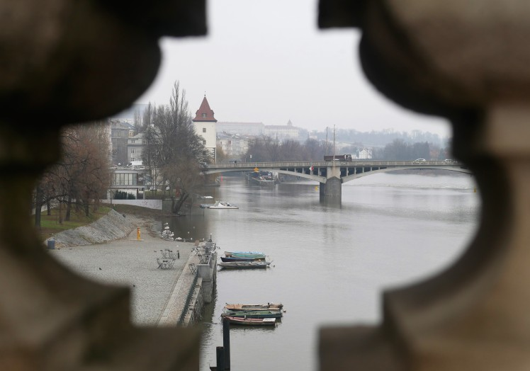 Vitava river Prague